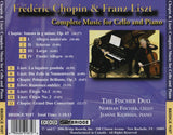 Chopin & Liszt: Music for Cello and Piano <br> The Fischer Duo <BR> BRIDGE 9187