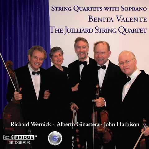 String Quartets with Soprano <BR> BRIDGE 9192