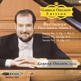 Garrick Ohlsson <br> Beethoven Sonatas, Vol. 2 <BR> BRIDGE 9201