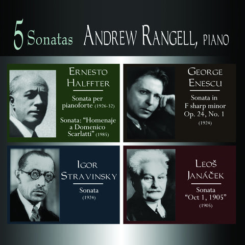 Five Sonatas <br> Andrew Rangell, piano <BR> BRIDGE 9205