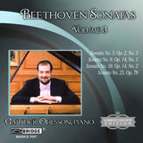 Garrick Ohlsson: Beethoven Sonatas, Vol. 3 <BR> BRIDGE 9207