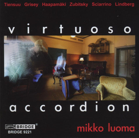 Virtuoso Accordion <br> Mikko Luoma <BR> BRIDGE 9221