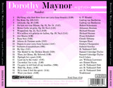 Dorothy Maynor <br> Great Performances from the Library of Congress, Volume 24 <BR> BRIDGE 9233