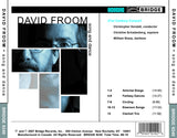 Music of David Froom <BR> BRIDGE 9240