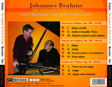 Brahms: The Sonatas for Violin and Piano <BR> BRIDGE 9258