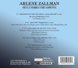 Music of Arlene Zallman <BR> BRIDGE 9323