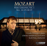 Mozart Piano Concertos, Vol. 1 <BR> BRIDGE 9328A/B