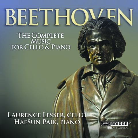 Ludwig van Beethoven: Complete Music for Cello and Piano <BR> BRIDGE 9329A/C