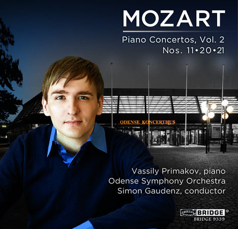 Mozart Piano Concertos, Vol. 2 <BR> BRIDGE 9339