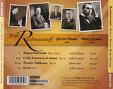 Rachmaninoff – Works for Cello and Piano <BR> BRIDGE 9347