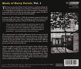 Harry Partch: Bitter Music <BR> BRIDGE 9349A/C