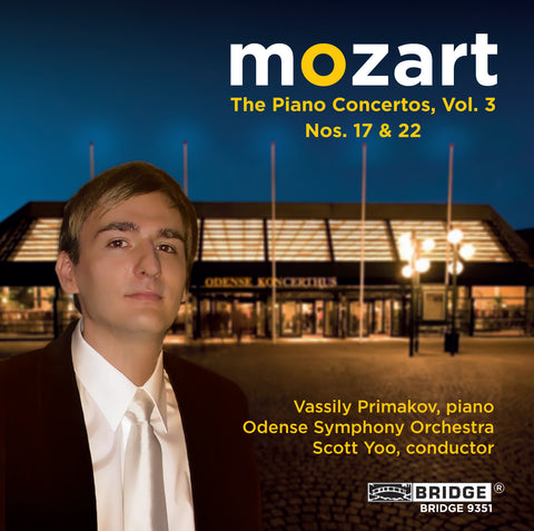 Mozart Piano Concertos, Vol. 3 <BR> BRIDGE 9351