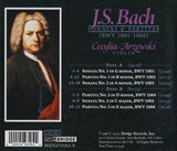 J.S. Bach: The Sonatas and Partitas for Solo Violin <BR> BRIDGE 9358A/B
