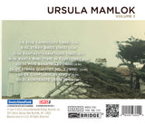 Music of Ursula Mamlok, Vol. 3 <BR> BRIDGE 9360