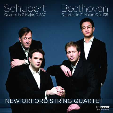 New Orford String Quartet: Music of Schubert and Beethoven <BR> BRIDGE 9363