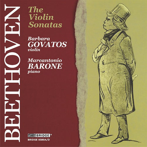Ludwig van Beethoven: The Complete Sonatas for Violin and Piano <BR> BRIDGE 9389A/D