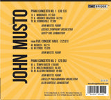 John Musto: Piano Concertos and Rags <BR> BRIDGE 9399