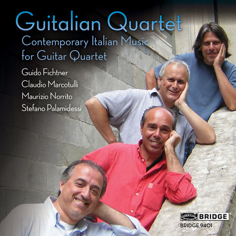 Contemporary Italian Music for Guitar Quartet <BR> BRIDGE 9401