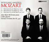 Anne-Marie McDermott performs Mozart: Piano Concertos <BR> BRIDGE 9403