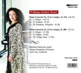 Mozart Piano Concertos, Vol. 4 <BR> BRIDGE 9408