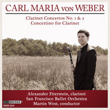 Alexander Fiterstein performs Carl Maria von Weber <BR> BRIDGE 9416