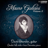 David Starobin performs Mauro Giuliani, Volume 2 <BR> BRIDGE 9418