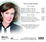 Anne-Marie McDermott - Piano Sonatas and Concertos of Haydn <BR> BRIDGE 9438A/B
