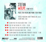 Music of Stefan Wolpe, vol. 7 <BR> BRIDGE 9452