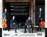 New Orford String Quartet: Music of Brahms <br> BRIDGE 9464
