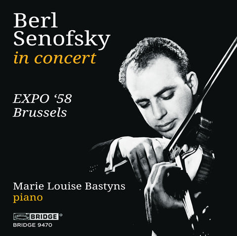 Berl Senofsky at Expo '58 Brussels <br> BRIDGE 9470