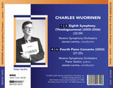 Charles Wuorinen: Eighth Symphony, Fourth Piano Concerto <br> BRIDGE 9474