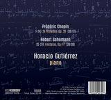 Horacio Gutiérrez plays Chopin & Schumann <br> BRIDGE 9479