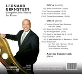 Leonard Bernstein: The Complete Music for Piano; Andrew Cooperstock, piano; BRIDGE 9485A/B