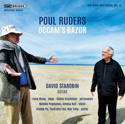Poul Ruders: Occam's Razor (New Music with Guitar, Vol. 11) <BR> BRIDGE 9500