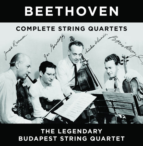 Beethoven: The Complete String Quartets <br> The Budapest String Quartet <BR> BRIDGE 9072, 9099, 9342
