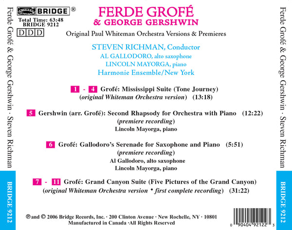 Ferde Grofé* Grofé·, Stanley Black conducting the London Festival Orchestra, The* London Festival Orchestra - Grand Canyon Suite