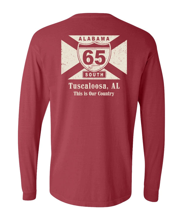 65 South - My Town - Tuscaloosa Long Sleeve Tee