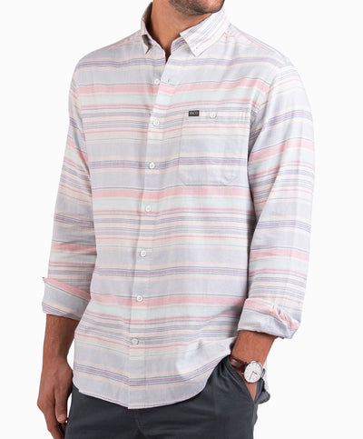 Southern Shirt Co - Sandbar Stripe Long Sleeve Shirt