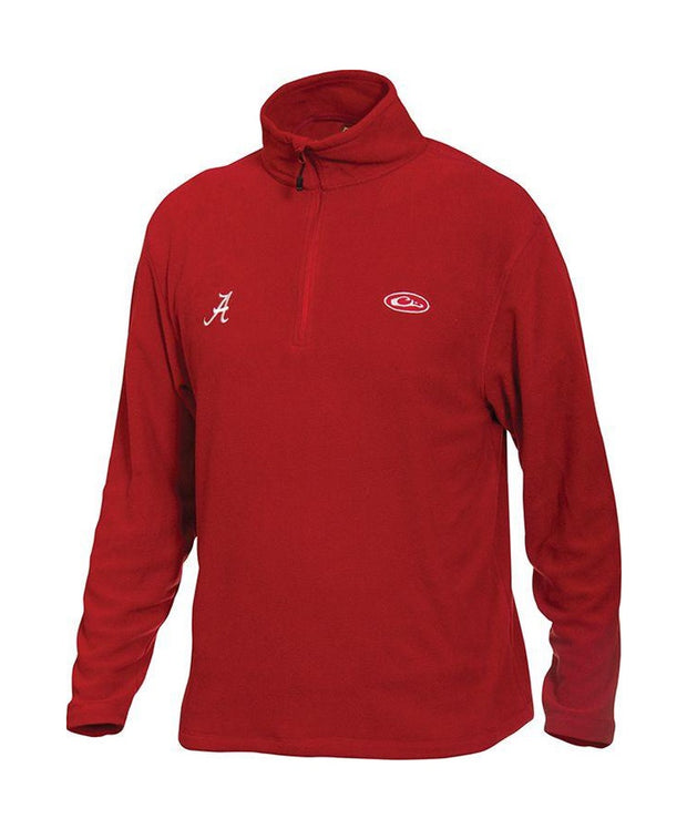 Drake - Alabama Camp Fleece 1/4 Zip Pullover