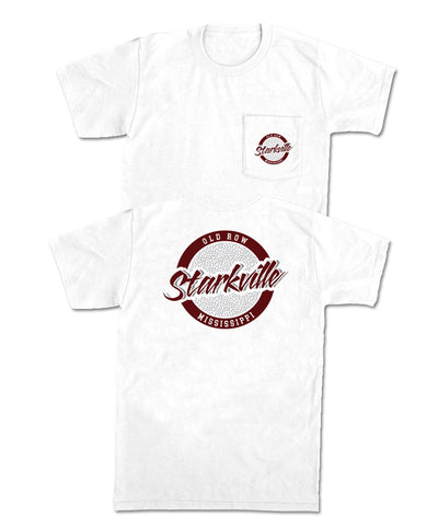 Old Row - Starkville Circle Logo Pocket Tee