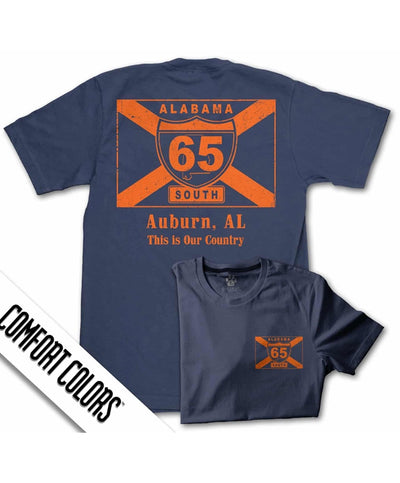 65 South - My Town - Auburn Tee