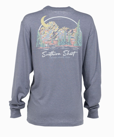 Southern Shirt Co - Enjoy The View Long Sleeve Tee