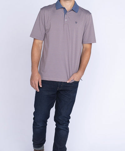 Southern Shirt Co - Rutledge Stripe Polo