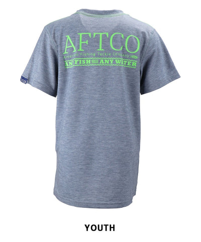 Aftco - Youth Anytime Dri-Release Performance Tee