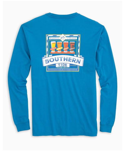 Southern Tide - Southern Brewery Long Sleeve Tee