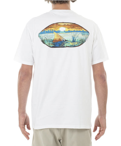Marshwear - Sunset Marsh Cotton Tee