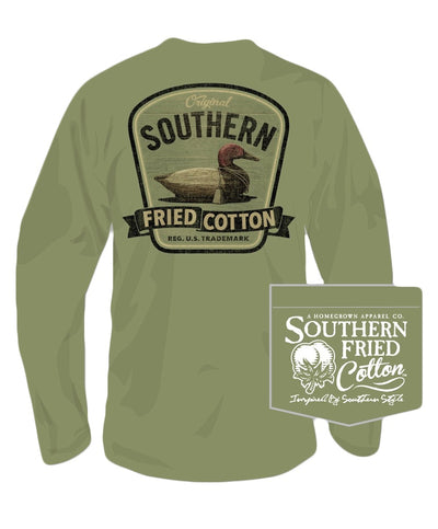 Southern Fried Cotton - Duck On Call Long Sleeve Tee