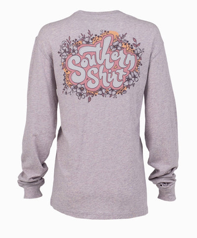 Southern Shirt Co - Far Out Floral Long Sleeve Tee