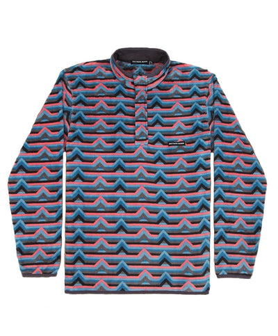 Southern Marsh - Moab Stripe Fleece Pullover