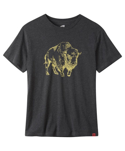 Mountain Khakis - Bison Illustration Tee